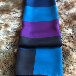 BURBERRY Authentic Silk Scarf Square